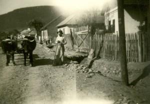 Andrew Kollar, on the family homestead in Slovakia.