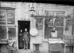 Fred Alexander's store on Federal Street