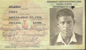 Pedro's green card