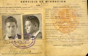 Pedro Nolasco's citizenship papers from Mexico