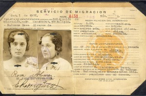Rosa's Mexican government documents