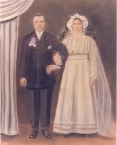 Anastasia Andrejko arried Mykola (Nick) Fedyna in 1911 at Holy Trinity Church