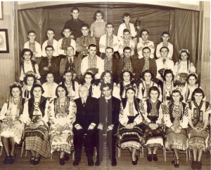 Sts. Peter and Paul Ukrainian Orthodox Church Dance Group, from the 1930s.