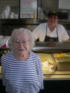 Rose and her son Jack Kravitz, who now manages the deli