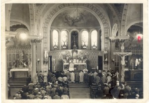 Easter at Sts. Cyril and Methodius, sometime in the 1940s